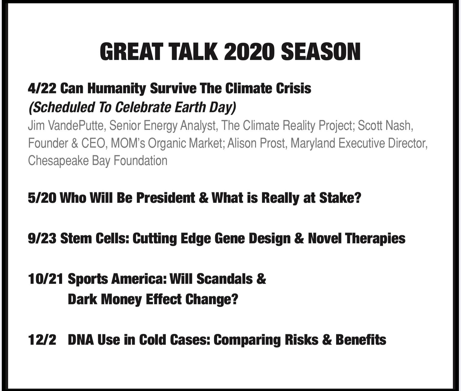Schedule 2020 image